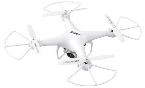 jjrc h68 bellwether wifi fpv rc drone 720p 20mins rtf white 682916