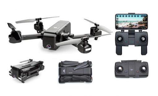 sjrc z5 foldable gps drone 0