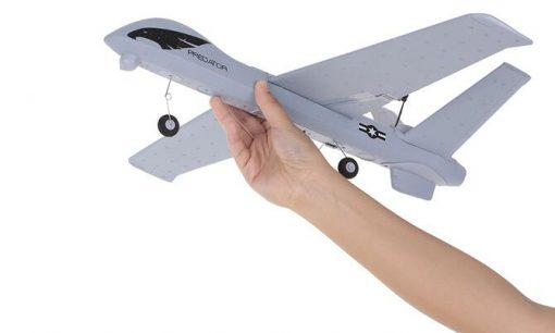 z51 rc drone 2 4g 2ch predator remote control rc airplane 660mm wingspan foam hand throwing