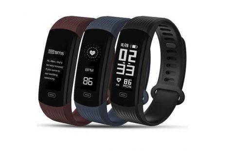 zeblaze plug smart wristband continuous heart