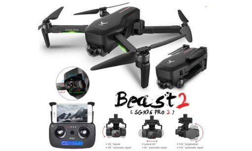 zlrc sg906 sg906 pro 2 gps drone with wifi fpv 4k camera three axis anti shake